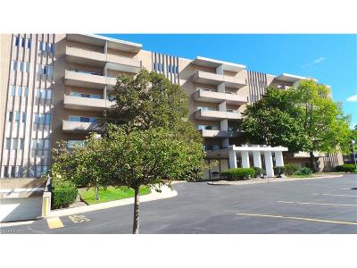 Rocky River Condo/Townhouse For Sale: 3167 Linden Rd #501