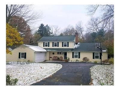 Chagrin Falls Single Family Home For Sale: 17084 Sunset Dr