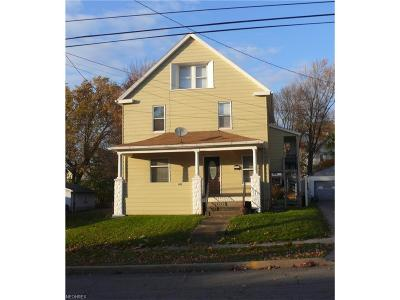 Girard Multi Family Home For Sale: 222 East Liberty St