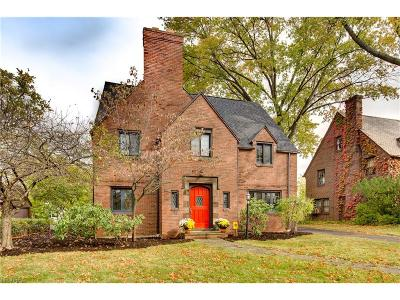 Shaker Heights Single Family Home For Sale: 3119 Ludlow Rd