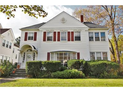 Shaker Heights Multi Family Home For Sale: 3412 Ashby Rd