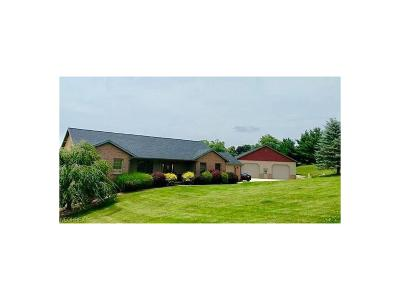 Muskingum County Single Family Home For Sale: 3630 Hayfield Rd
