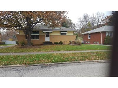 Parma Single Family Home For Sale: 9166 Tracy Trl