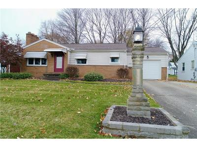 Struthers Single Family Home For Sale: 1159 Runge Ave