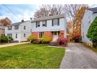 South Euclid Single Family Home For Sale: 1391 Argonne Rd
