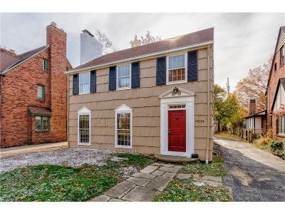 Shaker Heights Single Family Home For Sale: 18124 Lomond Blvd