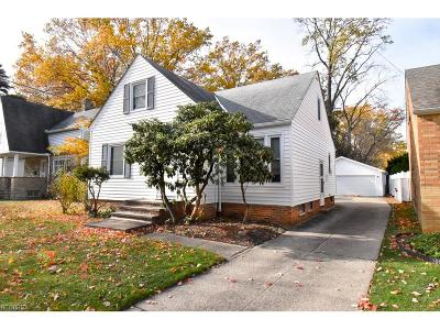 South Euclid Single Family Home For Sale: 1100 South Green Rd
