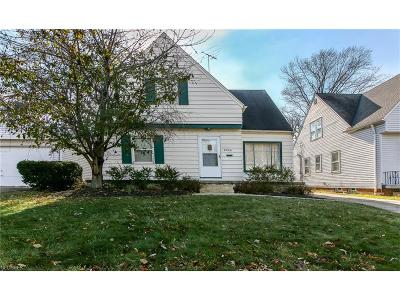 South Euclid Single Family Home For Sale: 4246 Verona