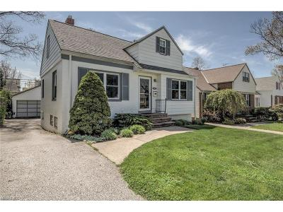 South Euclid Single Family Home For Sale: 4166 Ellison Rd