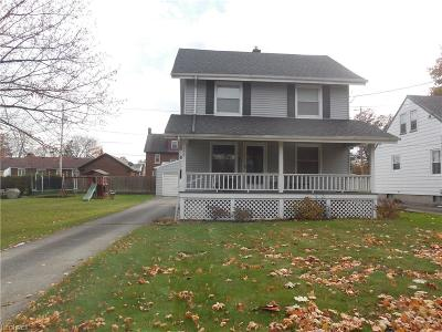 Struthers Single Family Home For Sale: 100 Como St