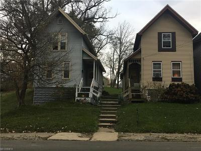 Ashtabula Single Family Home For Sale: 1320 West 5th St