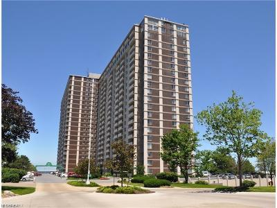 Bay Village, Cleveland, Lakewood, Rocky River, Avon Lake Condo/Townhouse For Sale: 12900 Lake Ave #1711