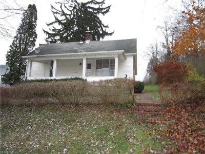 Guernsey County Single Family Home For Sale: 61712 Dewey St