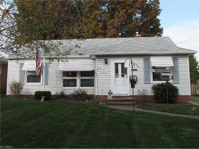 Parma Single Family Home For Sale: 9242 Ackley Rd