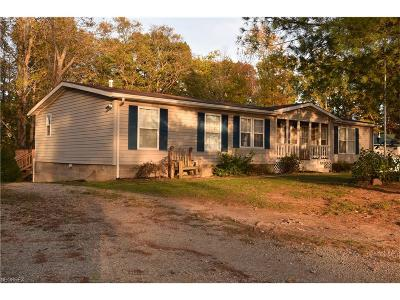 Guernsey County Single Family Home For Sale: 58878 Clagett Rd