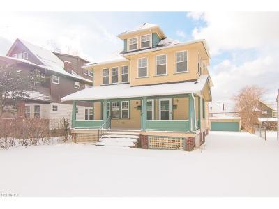 Shaker Heights Multi Family Home For Sale: 3600 Chelton Rd