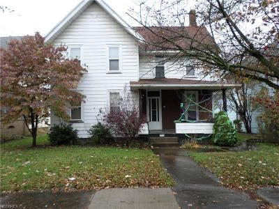 Stark County Multi Family Home For Sale: 301-301 1/2 6th St Southwest
