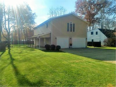 Lake Milton Single Family Home For Sale: 17373 Glenwood Ave