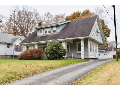 Boardman Single Family Home For Sale: 123 Melrose Ave