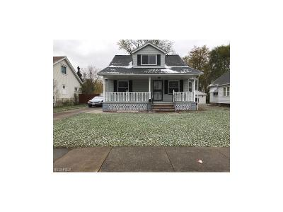 Maple Heights Single Family Home For Sale: 15813 Raymond St