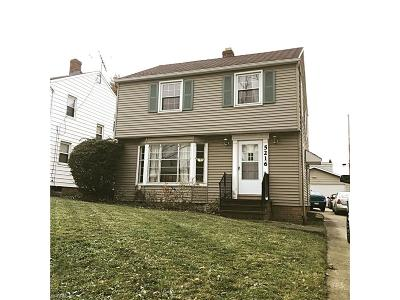 Garfield Heights Single Family Home For Sale: 5216 East 117th St