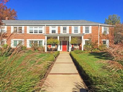 Shaker Heights Condo/Townhouse For Sale: 20301 Shelburne Rd #4A