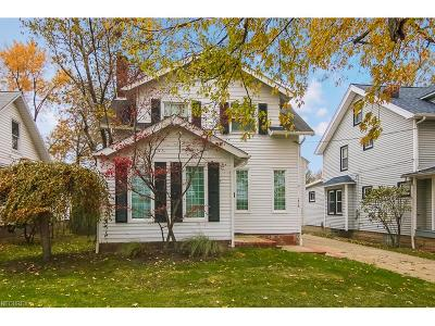 Wickliffe Single Family Home For Sale: 1718 Lincoln Rd