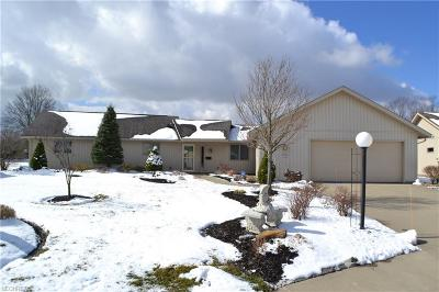 North Ridgeville Single Family Home For Sale: 9130 Quail Ct
