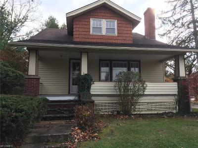 Strongsville OH Single Family Home For Sale: $155,500