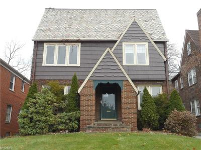 Shaker Heights Multi Family Home For Sale: 3537 Normandy Rd