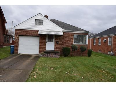 Parma Single Family Home For Sale: 2117 Grovewood Ave
