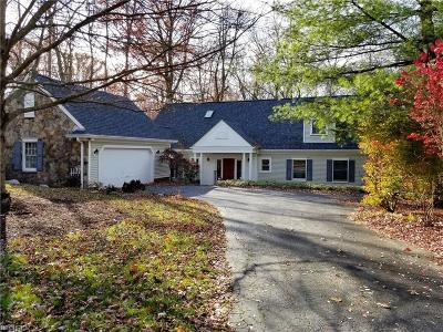 Chagrin Falls Single Family Home For Sale: 70 Solether Ln