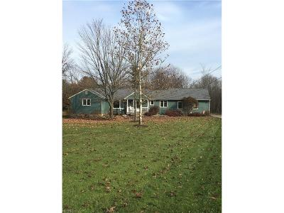 Geauga County Single Family Home For Sale: 12999 Old State Rd