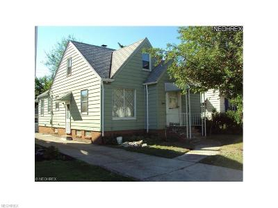 Maple Heights Single Family Home For Sale: 5206 Joseph St