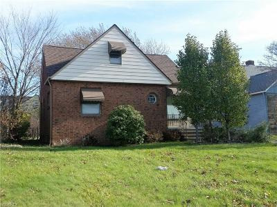 Cleveland Single Family Home For Sale: 1907 Warrensville Center Rd