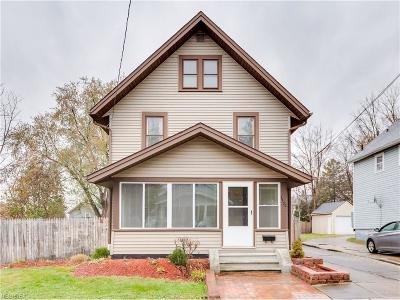 Summit County Single Family Home For Sale: 1170 Collinwood Ave