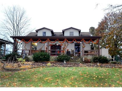 Guernsey County Single Family Home For Sale: 3842 College Hill Rd