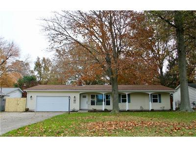 Mentor Single Family Home For Sale: 6189 Maplewood Rd
