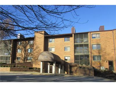 Mayfield Heights Condo/Townhouse For Sale: 140 Fox Hollow Dr #207C