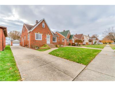 Parma Single Family Home For Sale: 1703 North Ave