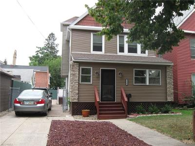 Cuyahoga County Single Family Home For Sale: 1713 Brevier Ave