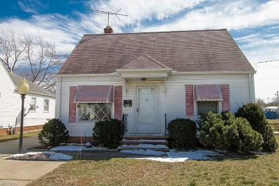 Wickliffe Single Family Home For Sale: 28912 Ridge Rd