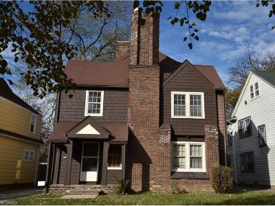 Shaker Heights Multi Family Home For Sale: 17109 Kenyon Rd