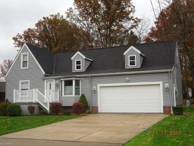 Cuyahoga County Single Family Home For Sale: 6312 Dora Blvd