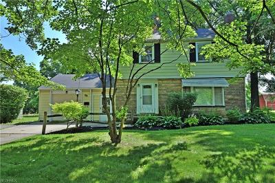 Youngstown Single Family Home For Sale: 93 South Raccoon Rd South
