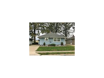 Wickliffe Single Family Home For Sale: 30089 Regent Rd