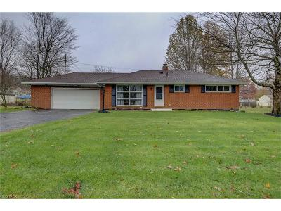 Broadview Heights Single Family Home For Sale: 8151 Marianna Blvd