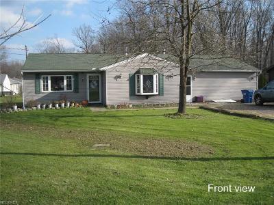 Lake Milton Single Family Home For Sale: 18066 Hillcrest Dr
