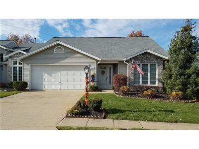 Strongsville Single Family Home For Sale: 10640 Carmel Oval #53-A
