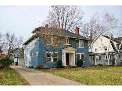 Shaker Heights Single Family Home For Sale: 2860 Woodbury Rd